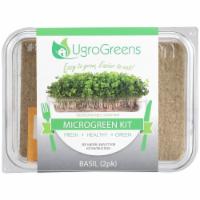 UgroGreens Basil Microgreen Kit 2 Count