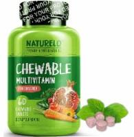 NATURELO Children's Chewable Multivitamin Tablets 60 Count - 60 ct