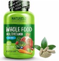 NATURELO Whole Food Multivitamin for Men Capsules - 120 ct