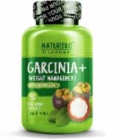 NATURELO Garcinia & Weight Management with Green Tea & 5-HTP Vegetarian Capsules