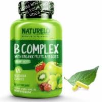 NATURELO Plant-Based B Complex Vegetarian Capsules 120 Count