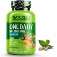 NATURELO One Daily Multivitamin for Men 50+ Capsules - 60 ct
