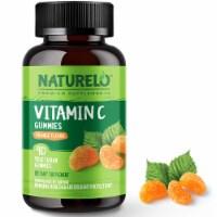 Naturelo Vitamin C Orange Flavor Vegan Gummies - 90 ct