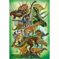 Eurographics Herbivorous Dinosaurs - 100pc Jigsaw Puzzle - 1