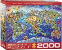 Eurographics Crazy World 2000-Piece Puzzle - 1