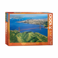 Eurographics Inc Golden Gate Bridge San Francisco California USA Puzzle