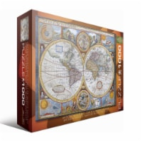 Eurographics Inc Antique World Map Puzzle
