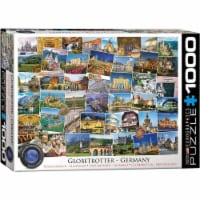 EuroGraphics Germany Globetrotter 1000-Piece Puzzle