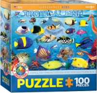 Eurographics Puzzles Tropical Fish Jigsaw Puzzle - 100 pc