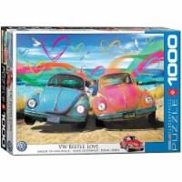 Eurographics VW Beetle Love - 1000 Piece Jigsaw Puzzle - 1