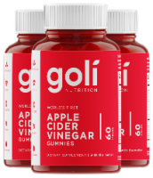 Goli Nutrition Apple Cider Vinegar Gummies