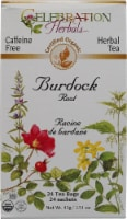 Celebration Herbals  Organic Burdock Root Tea Caffeine Free