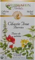 Celebration Herbals  Organic Chaste Tree Berries Tea Caffeine Free