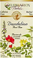Celebration Herbals  Organic Dandelion Root Raw Tea Caffeine Free
