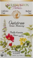 Celebration Herbals  Organic Oatstraw Green Flowering Tea Caffeine Free