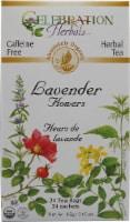 Celebration Herbals  Organic Lavender Flowers Tea Caffeine Free