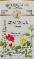 Celebration Herbals  Organic Milk Thistle Seed Tea Caffeine Free
