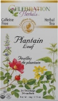Celebration Herbals  Organic Plantain Leaf Tea Caffeine Free