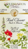 Celebration Herbals  Organic Red Clover Herb and Flower Tea Caffeine Free