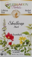 Celebration Herbals  Organic Skullcap Root Tea Caffeine Free