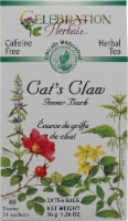 Celebration Herbals  Herbal Tea Caffeine Free Cat's Claw Inner Bark