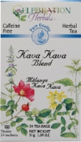 Celebration Herbals  Herbal Tea Caffeine Free Kava Kava Blend