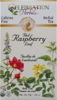 Celebration Herbals  Organic Red Raspberry Leaf Caffeine Free