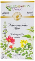 Celebration Herbals  Organic Tea Ashwagandha Root