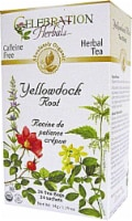 Celebration Herbals Organic Yellowdock Root Tea