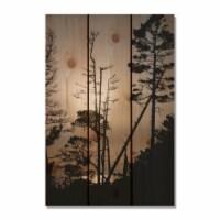 Day Dream HQ OF1624 16 x 24 in. Ocean Forest Inside & Outside Cedar Wall Art - 1