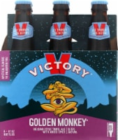 Victory Brewing Company Golden Monkey Ale Beer 6 Bottles