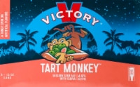 Victory Brewing Co. Tart Monkey Sour Session Ale with Guava