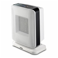 Portable Oscillation Ceramic Heater with Thermostat and LED - 1