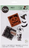 Sizzix Thinlits Dies By Georgie Evans 12/Pkg-Box-Spooky Silhouette