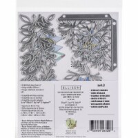 Sizzix 664453 Thinlits Dies by Jen Long, Intricate Corners - Pack of 8 - 1