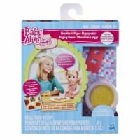 Baby Alive Super Snacks Noodles & Pizza Snack Pack (Blonde) Baby Doll - 1