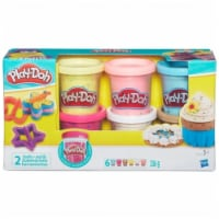 Hasbro HSBB3423 Play Doh-Confetti Compound Collection, Pack of 4 - 4