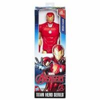 Marvel Titan Hero Series Iron Man Figure - 12 in