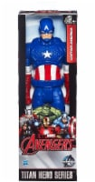 Hasbro Marvel Infinity War Titan Hero Series Captain America with Titan Hero Power FX Port