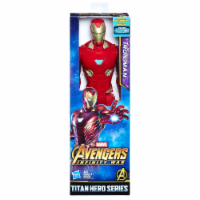 Hasbro Marvel Infinity War Titan Hero Series Iron Man with Titan Hero Power FX Port