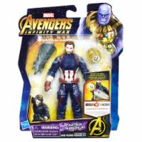 Hasbro Marvel Avengers Infinity War Captain America with Infinity Stone