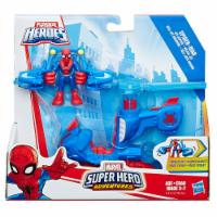 Playskool Heroes Marvel Super Hero Adventures Spider-Man Jet-Copter Figure - 1 ct