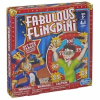 Hasbro HSBE2987 Fabulous Flingdini Board Game, 6 Piece