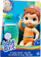 Hasbro Baby Alive Lil' Splashes Brown Hair Mermaid Doll - 1 ct