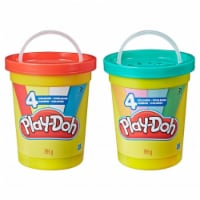 Hasbro HSBE5045 Play Doh-Large Bucket Compound Toys - 4 Piece - 1