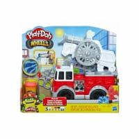 Hasbro HSBE6103 Play-Don Fire Truck Toy - Pack of 2