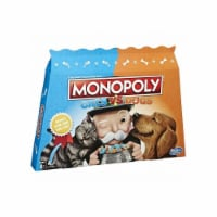 Hasbro HSBE5793 Monopoly Cats Vs Dogs Board Game
