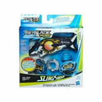 Hasbro HSBE5566 Beyblade Oceanus Launcher Kit Toy - Pack of 8