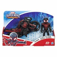 5-Inch Playskool Heroes Marvel SUPER HERO ADVENTURES Spider-Man Jetquarters