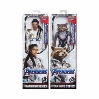 Hasbro HSBE3308C Avengers Titan Hero Movie B Toys, Assorted Colors - 4 Piece